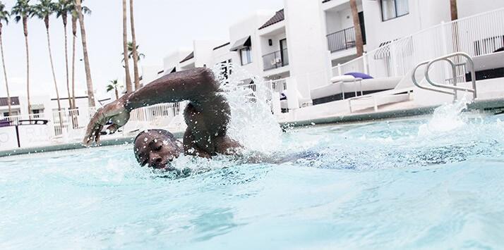hiit piscine