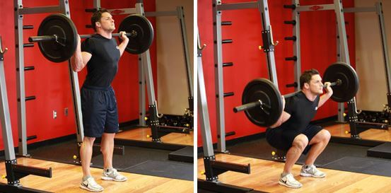 position du squat